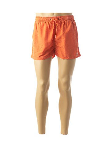 Short orange FEEL FREE BY PROMISE pour homme