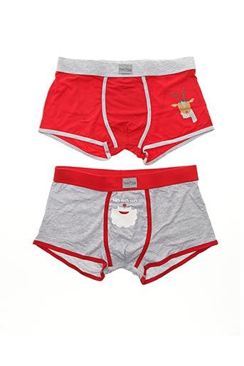 Shorty/Boxer rouge PROMISE pour homme
