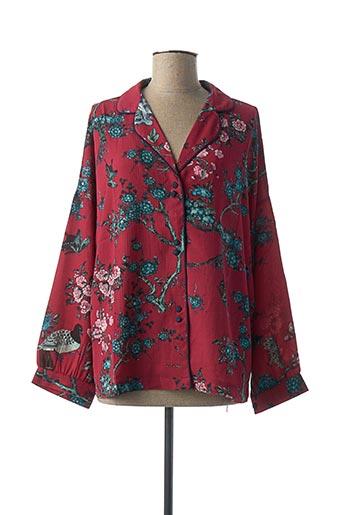 Veste casual rouge AKOZ DE TOI pour femme
