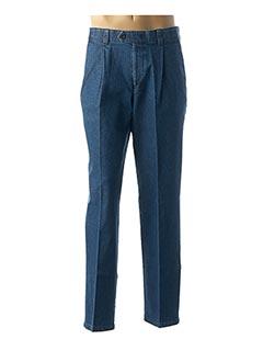 Jeans coupe slim bleu HATTRIC pour homme