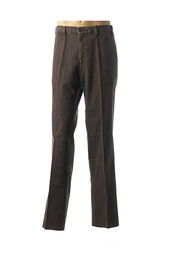 Jeans coupe slim marron DANIEL HECHTER pour homme