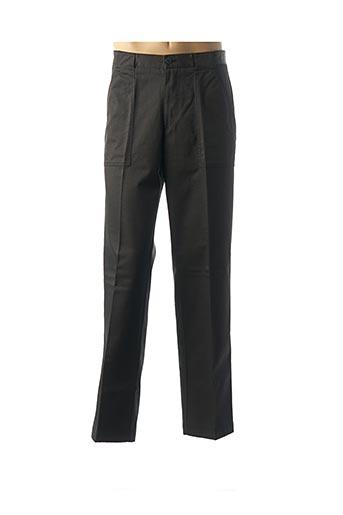 Pantalon casual noir CAMEL pour homme