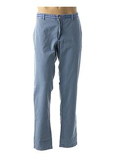 Pantalon casual bleu CALAMAR pour homme