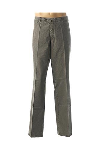 Pantalon chic marron LUIGI MORINI pour homme