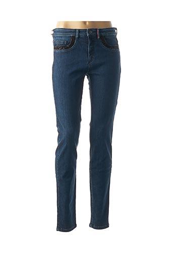 Jeans coupe slim bleu DENIM &DRESS pour femme