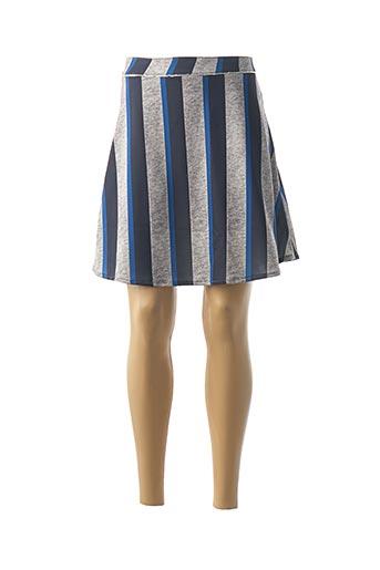 Jupe courte gris DENIM &DRESS pour femme