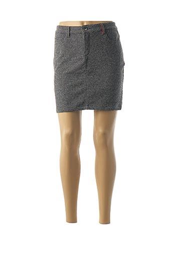 Jupe courte noir DENIM &DRESS pour femme