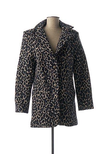 Manteau long bleu DENIM &DRESS pour femme