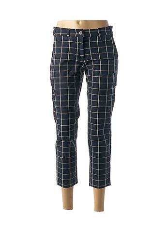 Pantalon 7/8 bleu DENIM &DRESS pour femme