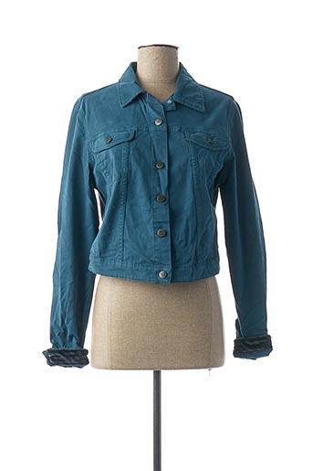 Veste casual bleu DENIM &DRESS pour femme