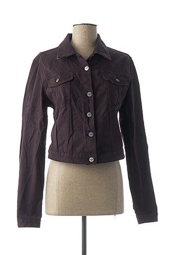 Veste casual violet DENIM &DRESS pour femme