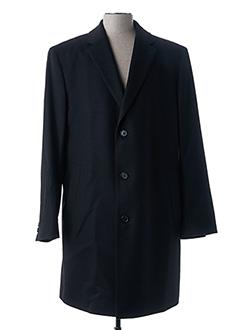 Manteau long noir HUGO BOSS pour homme
