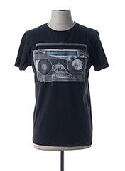 T-shirt manches courtes noir HUGO BOSS pour homme seconde vue