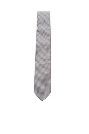 Cravate gris HUGO BOSS pour homme