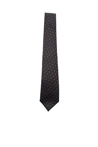 Cravate marron HUGO BOSS pour homme