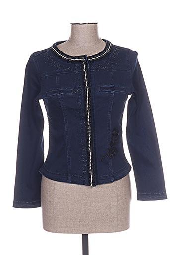 Veste en jean bleu LESLIE pour femme
