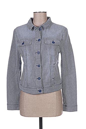 Veste en jean bleu CARLA KOPS pour femme