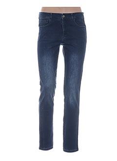 Jeans coupe droite bleu ANANKE pour femme