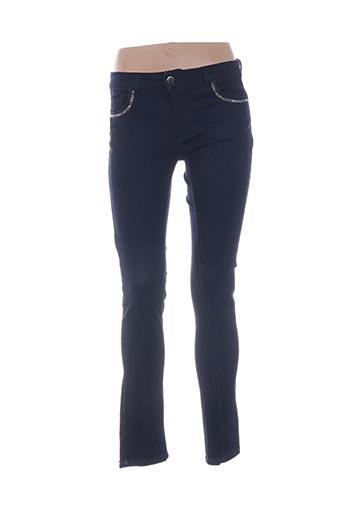 Jeans skinny bleu CARLA KOPS pour femme