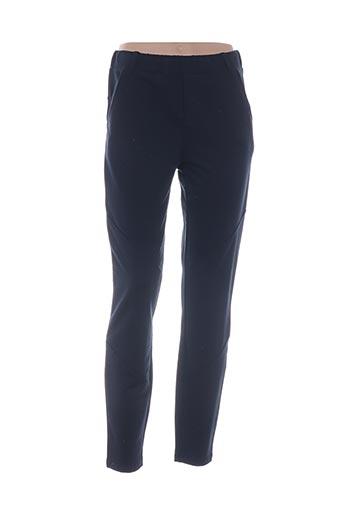 Pantalon casual bleu YAYA pour femme
