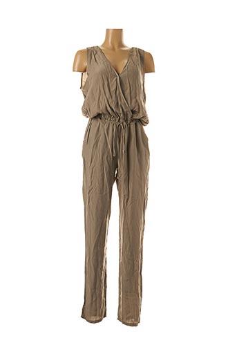 Combi-pantalon beige KOCCA pour femme
