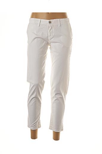 Pantalon 7/8 blanc COLMAR pour femme