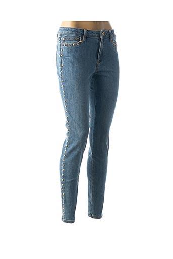 Jeans coupe slim bleu MICHAEL KORS pour femme
