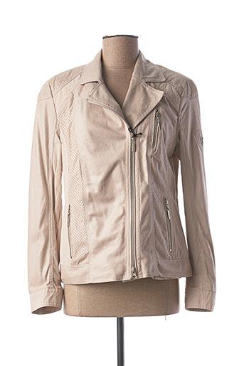 Veste casual beige LEBEK pour femme