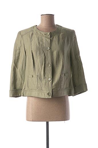 Veste chic / Blazer vert LEBEK pour femme