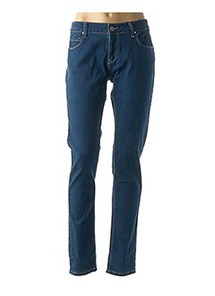 Jeans coupe slim bleu BEST MOUNTAIN pour femme