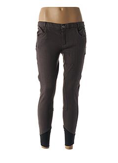 Pantalon casual gris EQUI-THEME pour fille