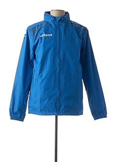 Coupe-vent bleu UHLSPORT pour homme