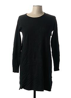 Robe pull noir EVIS pour femme