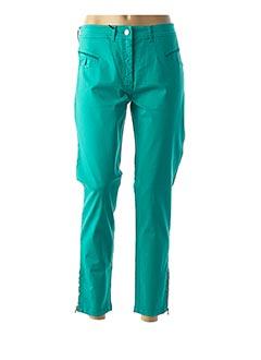 Pantalon 7/8 vert PAUL BRIAL pour femme