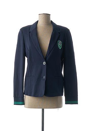 Veste casual bleu BRANDTEX pour femme
