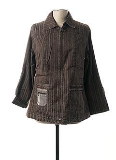 Veste casual marron JAC JAC pour femme