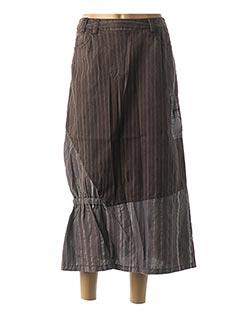 Jupe longue violet JAC JAC pour femme