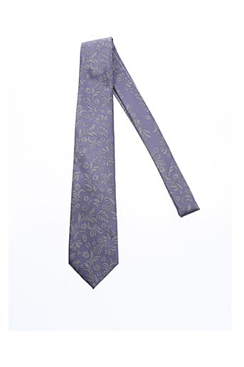 Cravate violet DANIEL VALENTE pour homme