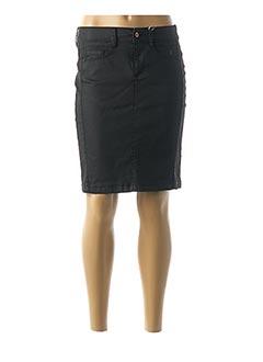 Jupe courte noir TOM TAILOR pour femme