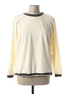 Sweat-shirt beige CAPMER pour femme