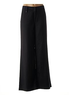 Pantalon chic noir BRUNO ANTOGNINI pour femme