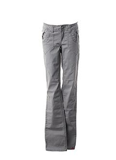 Pantalon casual gris EDC BY ESPRIT pour femme