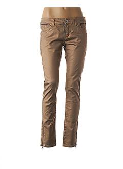 Pantalon casual marron EDC BY ESPRIT pour femme