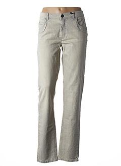 Jeans coupe droite bleu IKKS pour femme