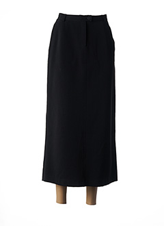 Jupe longue noir NEW MAN pour femme