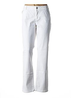 Pantalon casual blanc ESPRIT pour femme