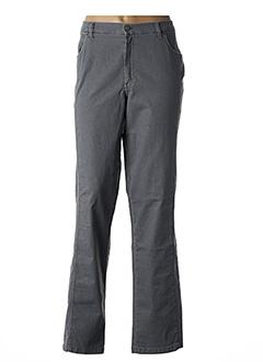 Pantalon casual gris ROSA ROSAM pour femme