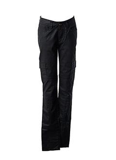 Pantalon casual marron I.CODE (By IKKS) pour femme