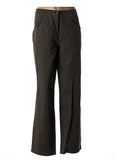 Pantalon casual vert ROSA ROSAM pour femme