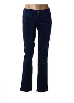 Pantalon casual violet EDC BY ESPRIT pour femme